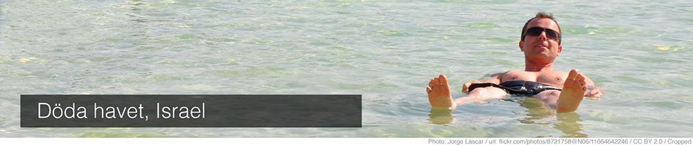 döda havet väder
